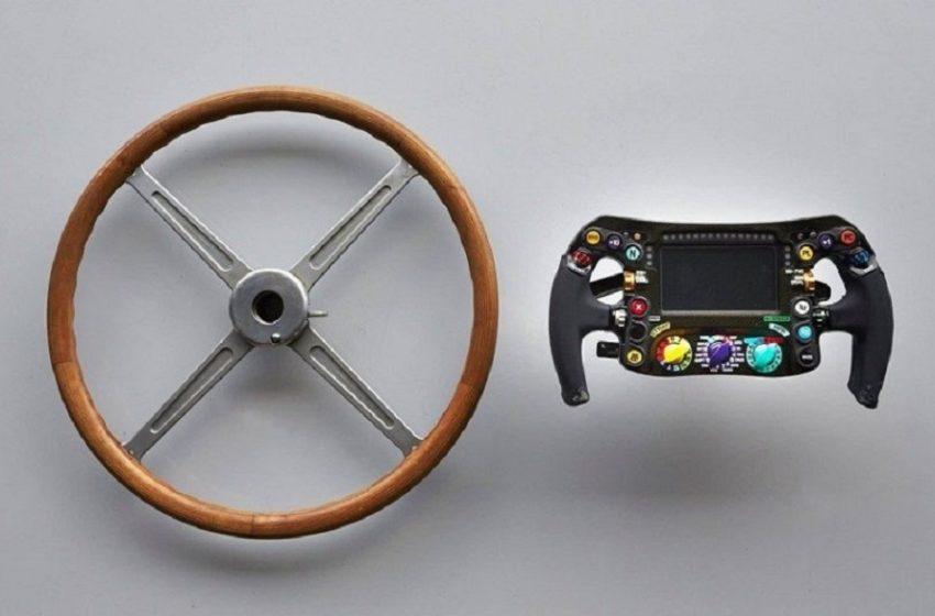 Эволюция рулей в Формуле-1.