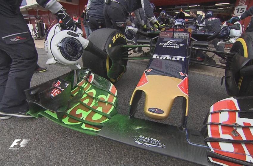Зачем наносят краску на машины Формулы-1?