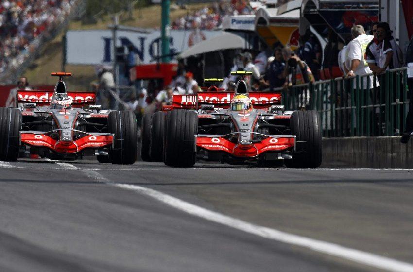 Хэмилтон против Алонсо на Гран-при Венгрии 2007