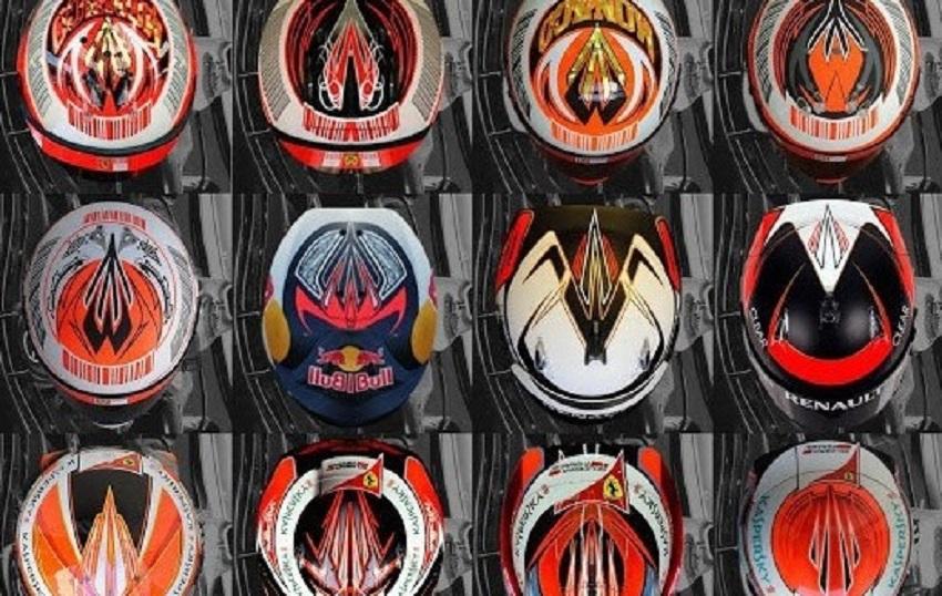 Кими Райкконен: Загадочная руна на всех шлемах