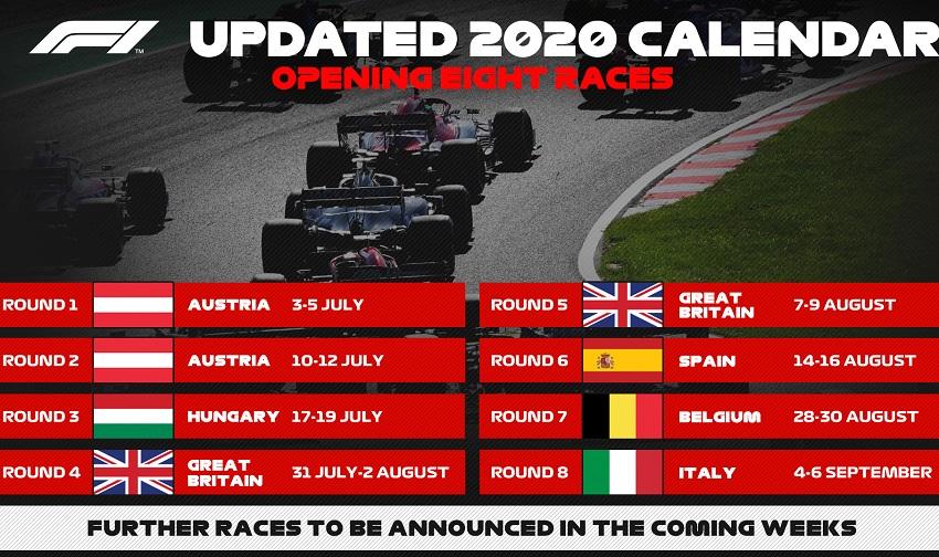 Формула-1 2020 стартует 5 июля: что нас ждет?