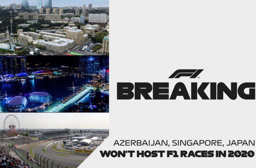 Баку, Сингапур, Япония отменены — что дальше?